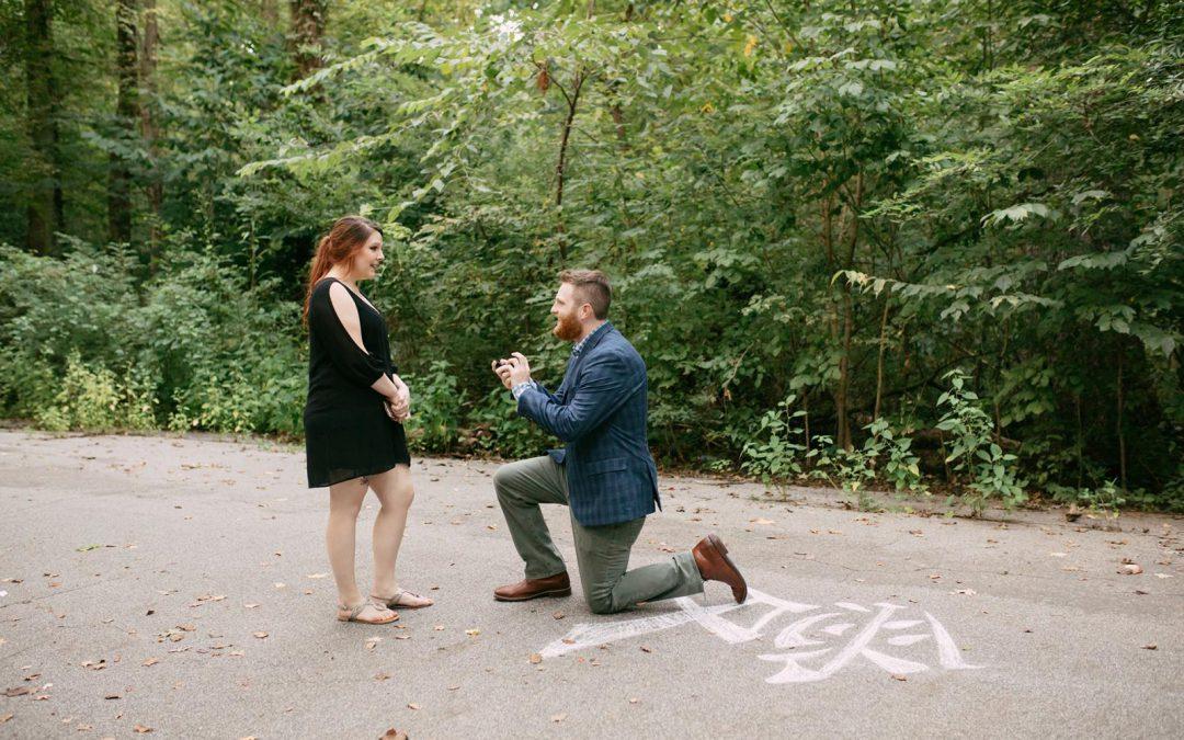 A Proposal – Alicia+Jake