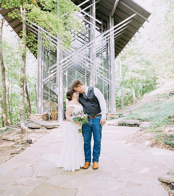 Eureka Springs Wedding Day of Amanda and Garrett